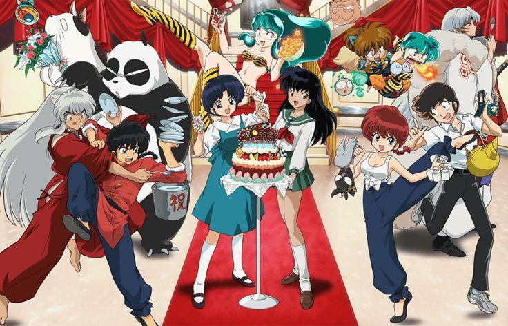 Fan Art of Ranma, Inuyasha, Lamu for fans of Anime Multiverse.