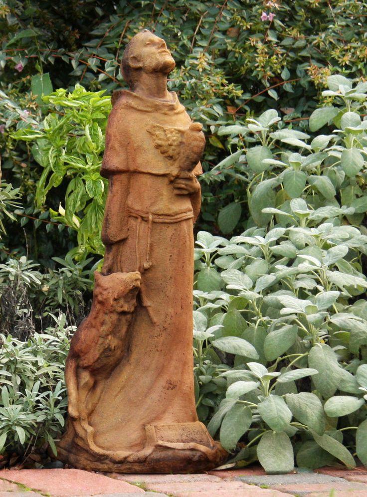 Religious Saint Francis Statue