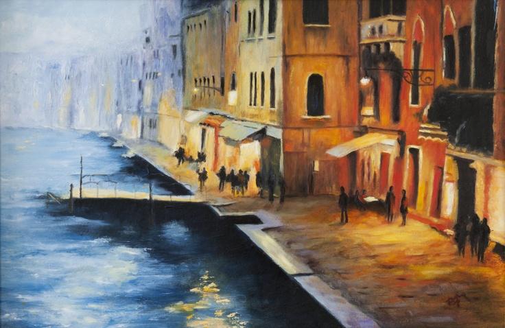 Venice Evening (Reproduction)