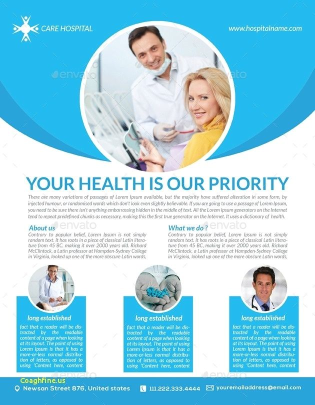 Free Health Care Flyer Templates Medical Posters Medical Health Care Home Health Care
