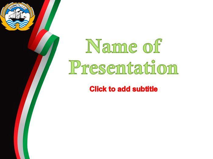110 best powerpoint templates images on pinterest kuwait presentation template toneelgroepblik Gallery