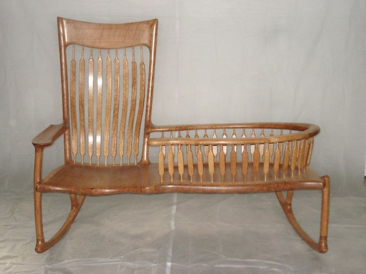 Shaker baby cradle plans woodworking projects plans for Shaker bed plans
