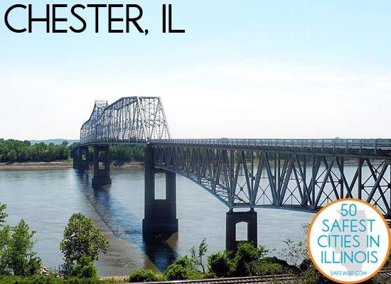 Chester, IL: The 7th Safest City in Illinois