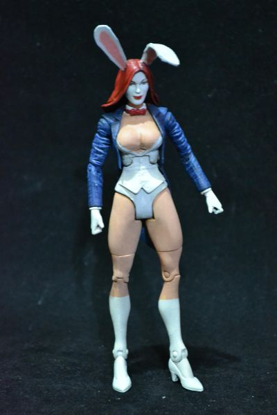 this is a marvel legends White Rabbit Custom Action Figure ...