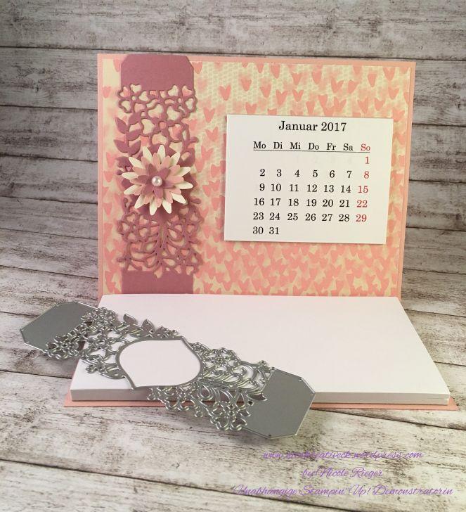 Stampin' Up! - Kalender mit Zum Verlieben und Liebe zum Detail