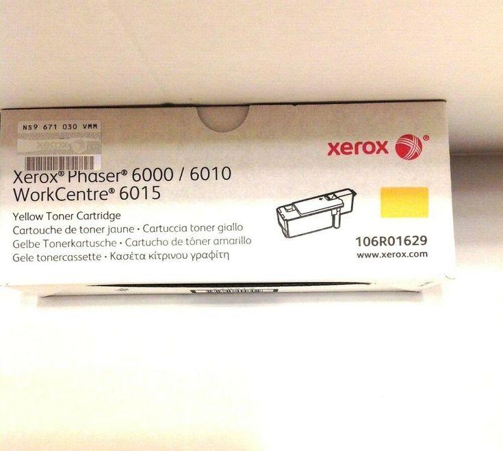 Xerox 106r01629 Oem Yellow Toner Cartridge For Phaser 6010