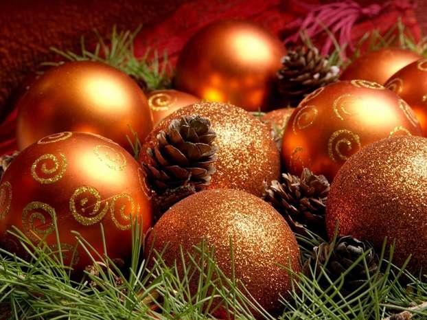 Addobbi e palline di Natale