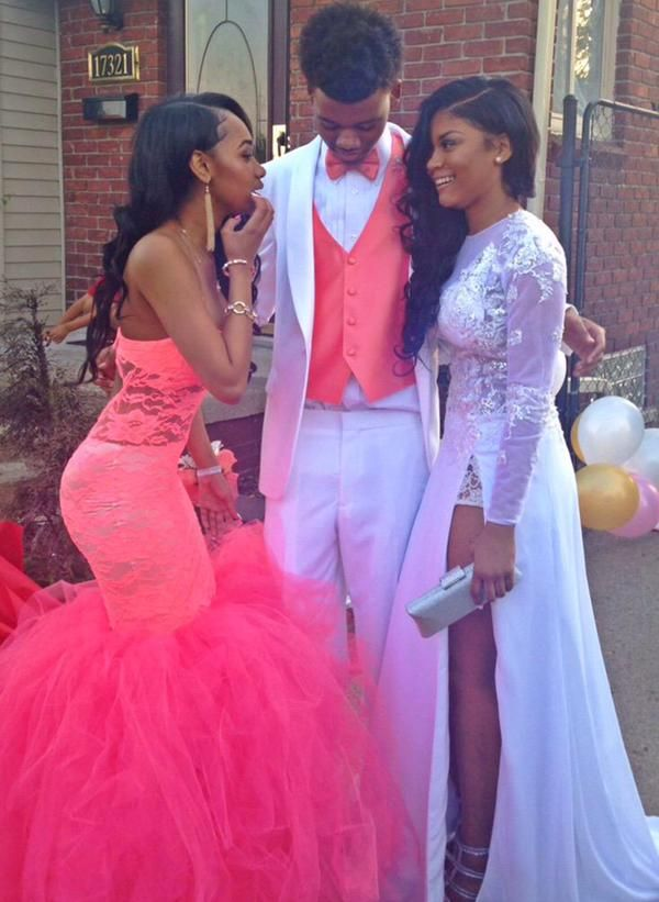 Pink Prom Couples_Prom Dresses_dressesss