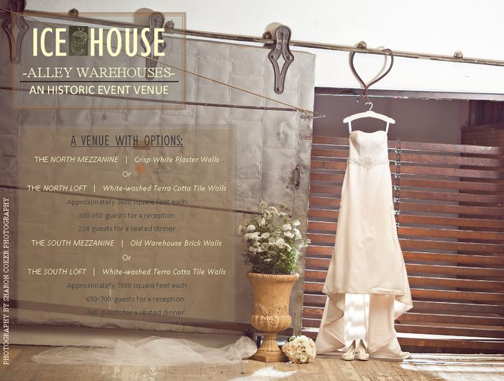 The Ice House Alley Warehouses Jackson Ms Wedding Venue