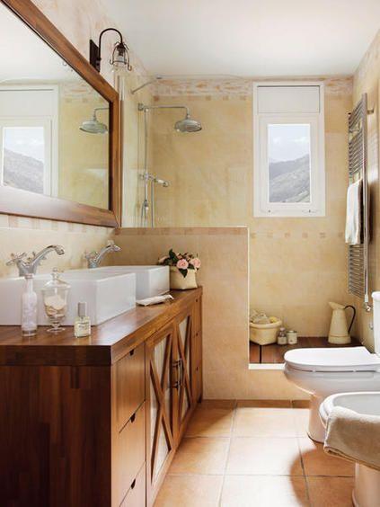 C mo sacar m s partido al ba o reformas pinterest for Diseno de cuartos de bano con ducha