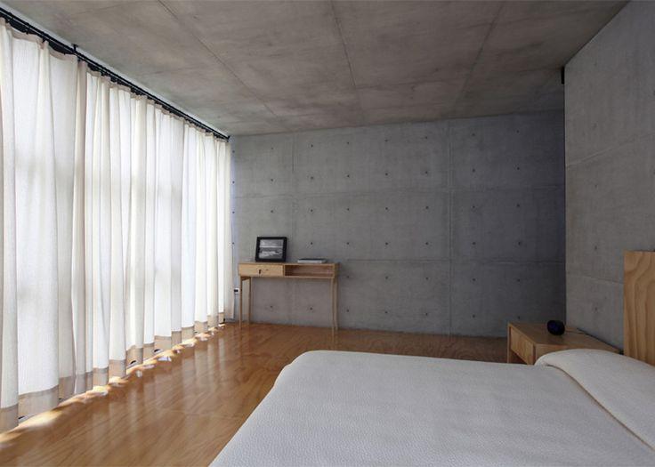 Casa 2G concrete house in Mexico by Stación-ARquitectura