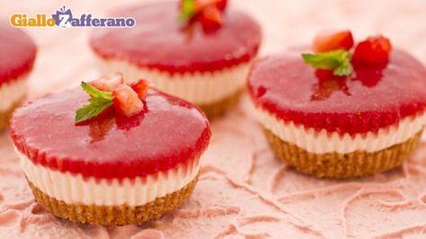 Ricetta Mini cheesecake - Le Ricette di GialloZafferano.it