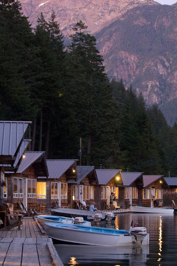 Ross Lake Resort - Dad's favorite place. Can't wait to visit this summer in honor of him!