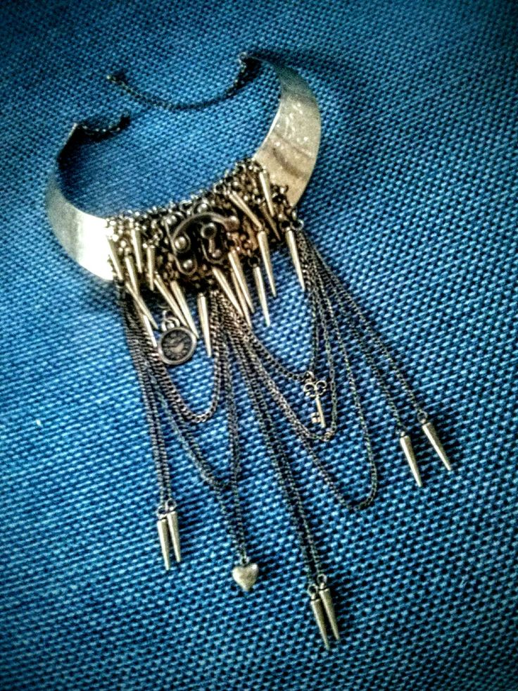 Brass steam punk collar-necklace. #diy #steampunk
