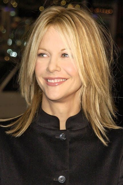 Meg Ryan Layered Haircuts For Long Hair | New Style for