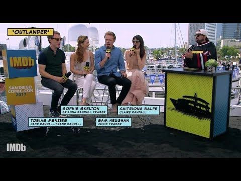 Outlander - IMDb interview with the Cast_SDCC17[Sub Ita] - YouTube