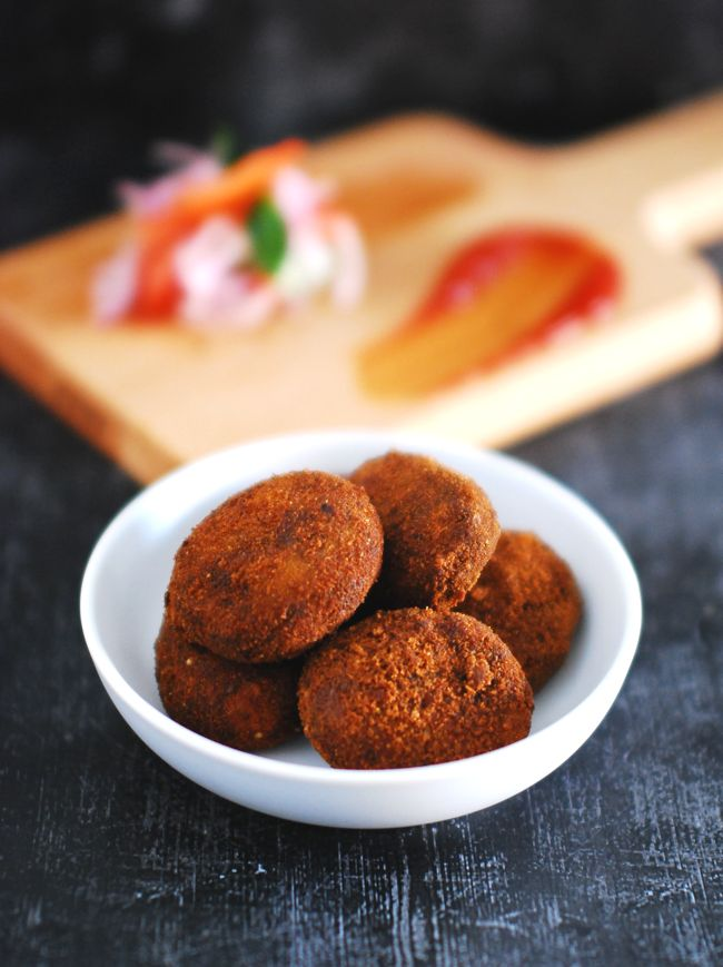 Learn how to make Kerala Style Beef Cutlet Recipe. It's a crowd pleaser and you can make this in advance for parties, since it freezes well.