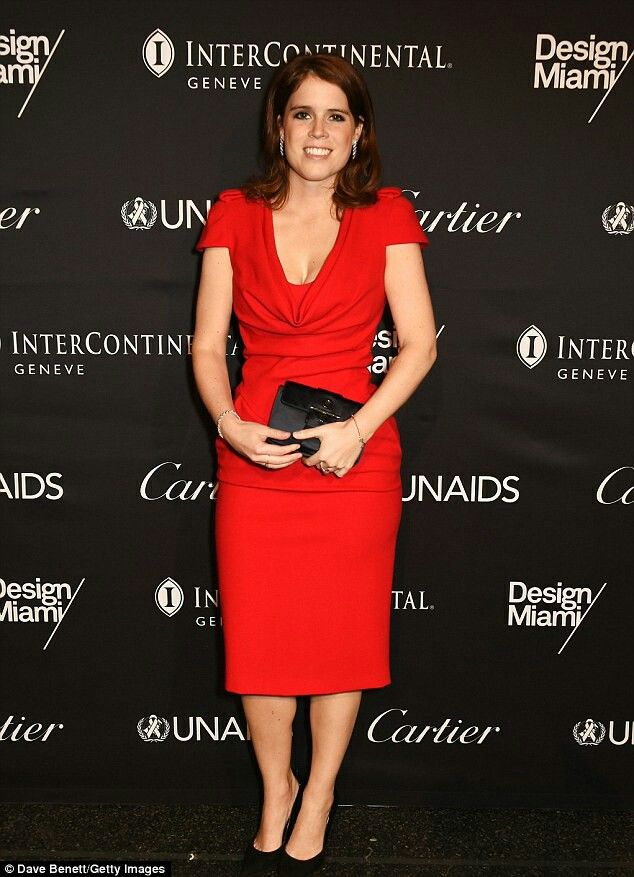 Edit Princess Eugenie of York, who is partial to a jaunt abroad, attended the UNAIDS Gala during Art Basel 2016 at Messe Basel in Basel, Switzerland, on Monday night, marking her sixth trip abroad in the past 12 months