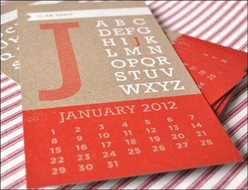 15 Creative 2012 Calendar Designs - 13 - Pelfind