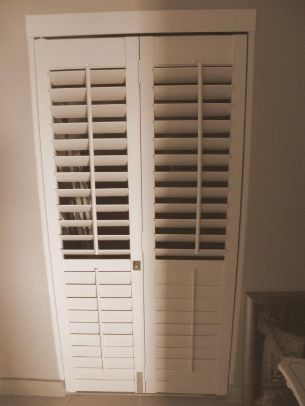 Indoor shutters for awkward spaces