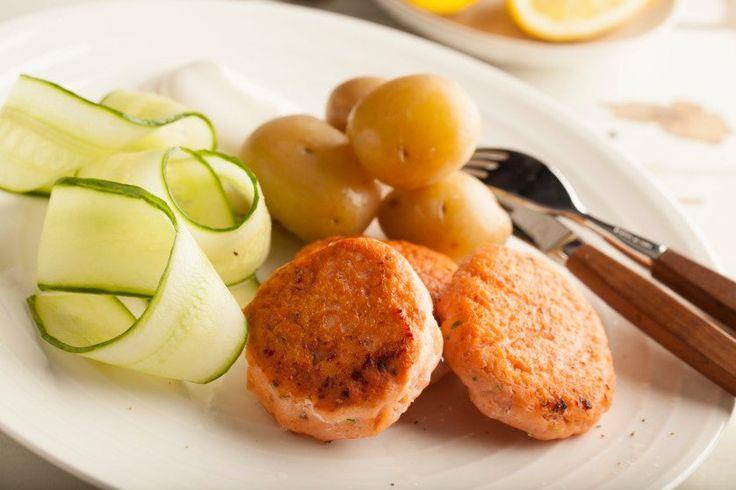 Norwegian Salmon Cakes