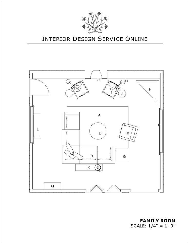 Arranging Furniture With Multiple Focal Points, Interior Design Help Online  By Interior Design Service Online