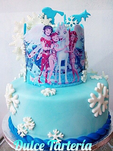 Tarta Frozen/Mia & Me