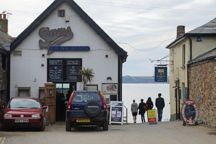 The 'Sams' empire boasts family-friendly eateries in Fowey, Polkerris, Crinnis and Truro - all offer great food in a relaxed and effortlessly cool way. Polkerris and Crinnis offer beach side eating.