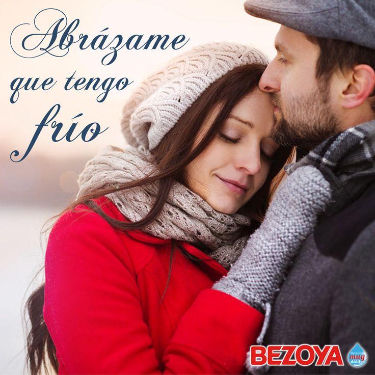 Abrázame que tengo frío. #bezoya, abrazo, amor, love, invierno, abrazar, proteger, cuidar, agua, complicidad
