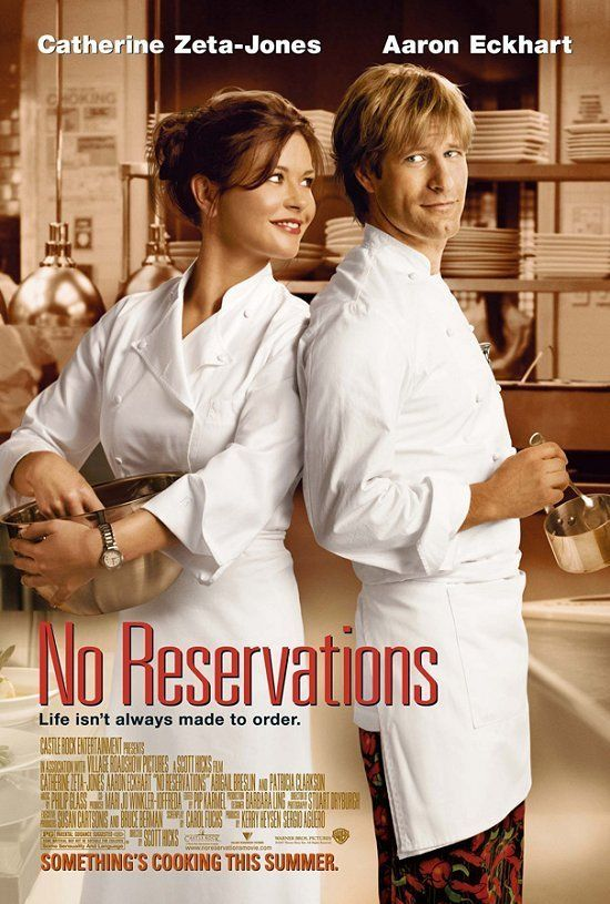 """No Reservations"" (2007) starring Catherine Zeta- Jones, Aaron Eckhart and Abigail Breslin"