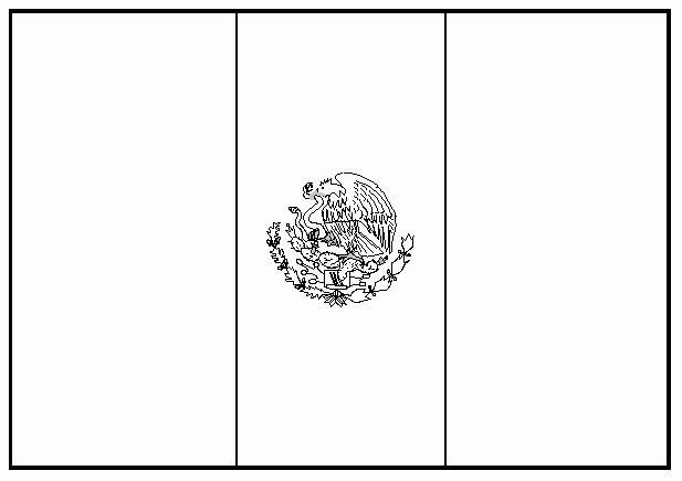 Blank Flag Coloring Page Awesome Free Mexican Flag Black And White Download Free Clip Art