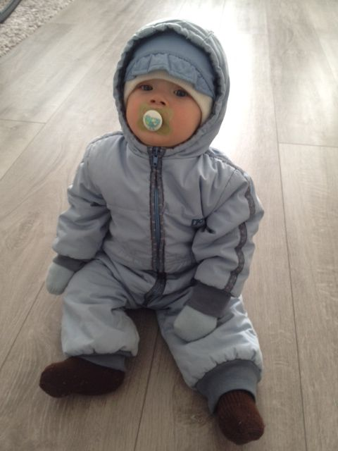 #Reima70 Hello! We have this lovely Reima outfit from the beginning of 80´s, light blue baby winter overall. Until now, it has been used by 5 lucky ones: my sister (born in -81), me (-83) and my three sons: -08, -09 and -13. The overall is still like new and I cherish it as my treasure! -Laura