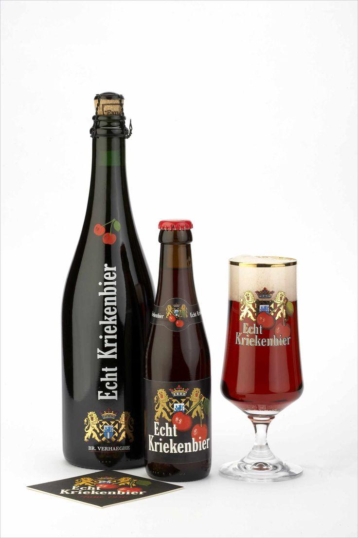 """""""Echte Kriekenbier"""" is zoals de naam het aangeeft een kriekbier dat enkel met volle kriekenvruchten vervaardigd wordt in plaats van met smaakversterkers of extracten van krieken. Het fruit is afkomstig van de streek rond Sint-Truiden in Limburg (België). In tegenstelling tot de meest bekende fruitbieren is het basisbier van de """"Echte Kriekenbier"""" niet een Lambic maar een West-Vlaamse roodbruine ale gerijpt in eikenhout. Omstreeks half juli bij de pluk worden de noorderkrieken de brouwerij…"""