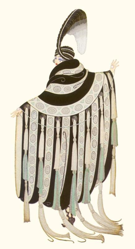 Gaby Deslys Fashion-Erte - by style - Art Deco