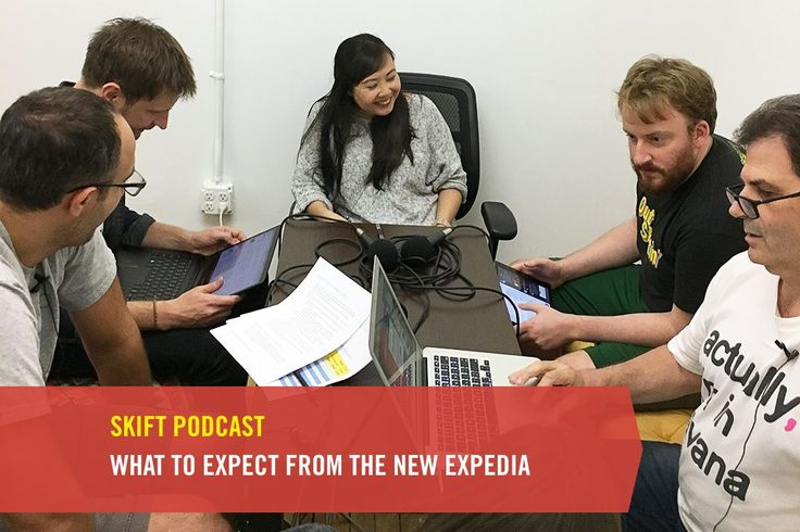 Skift Podcast: What to Expect From the New Expedia  Skift experts from the editorial and research teams talk about the history and future of Expedia. Skift  Skift Take: Our team of experts at Skift can talk Expedia news with the best  in fact they are the best. Tune in for insight on Expedia's history and future under new leadership.   Hannah Sampson  Anyone who follows travel knows that Expedia has been making a lot of news lately. Now-former CEO Dara Khosrowshahi left to take the top job…