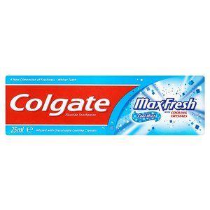 Colgate Max Fresh Cool Mint Toothpaste 25ml £1.09 Superdrug