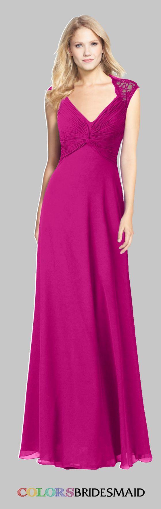 Único Oscuros Vestidos De Dama De Color Púrpura Modelo - Ideas de ...