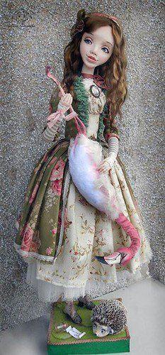 С Днем Рождения Льюис Кэрролл ! / Красивые фото, открытки кукол / Бэйбики. Куклы фото. Одежда для кукол