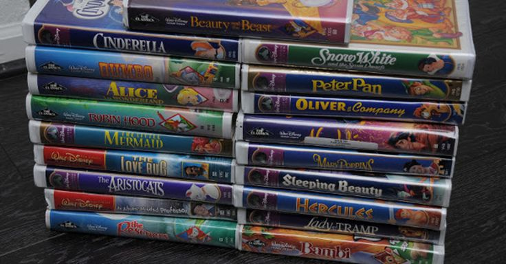 Don't Toss Your Old Disney VHS Tapes Away, They Could Be Worth A Fortune