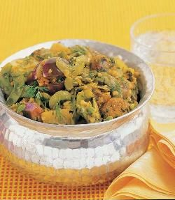 Get home the traditional gujarati vegetable recipe, undhiyu with this simpers and authentic oondhiyu recipe. The vegetable are cooked together with buttermilk, coconut and spice powders and enjoyed hot with rice.