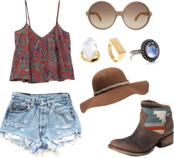 Perfect for a pit together yet effortless outfit for those scorching summer days