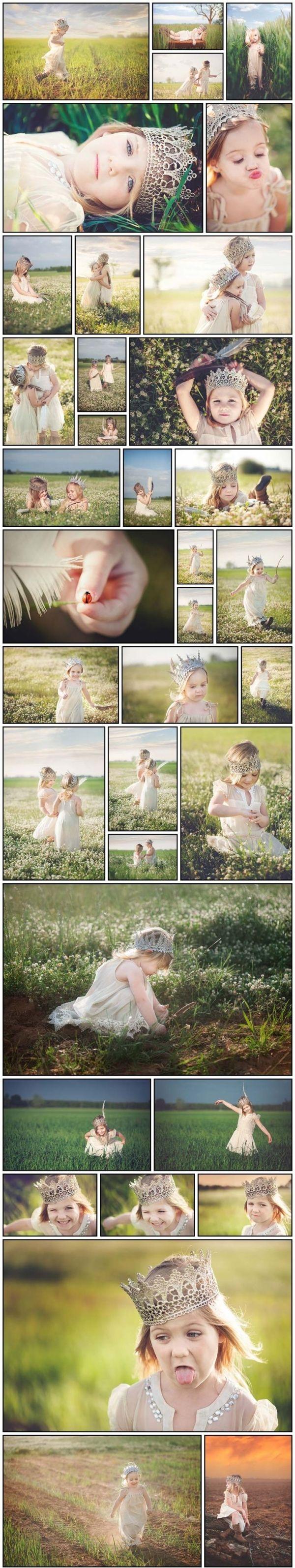 Princess photo shoot | child photography by toni