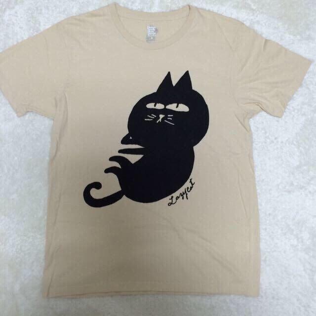 Design Tshirts Store graniph(グラニフ)のグラニフ ゆるキャラ ネコ Tシャツ レディースのトップス(Tシャツ(半袖/袖なし))の商品写真