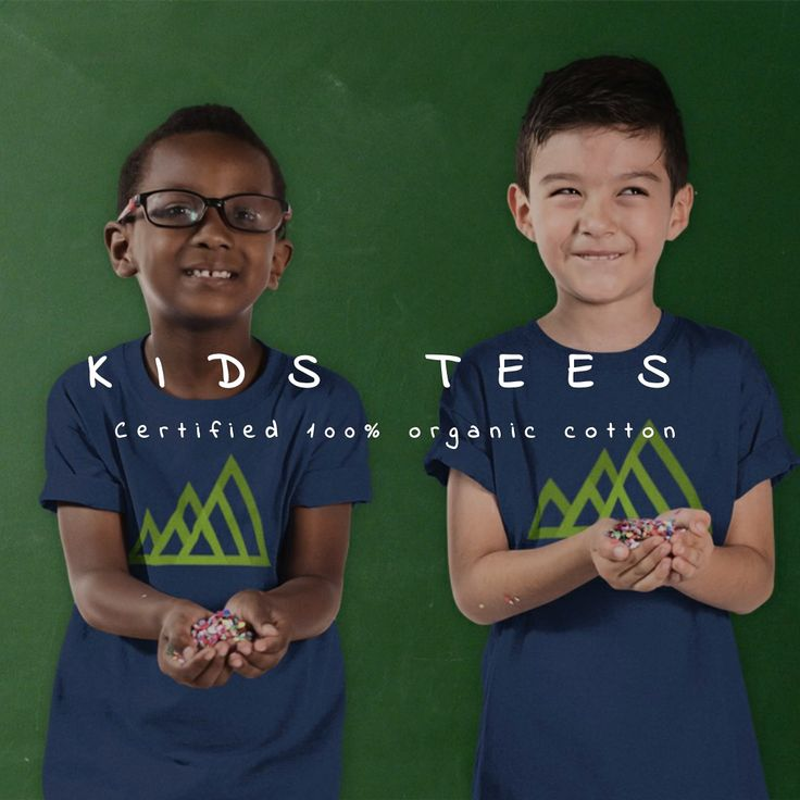 Kids Tees, certified 100% organic cotton. #kids #kidswear #kidsclothes #organic #organiccotton #tshirt #tshirtdesign #yanmos #ecofashion #sustainablefashion #nature #environment