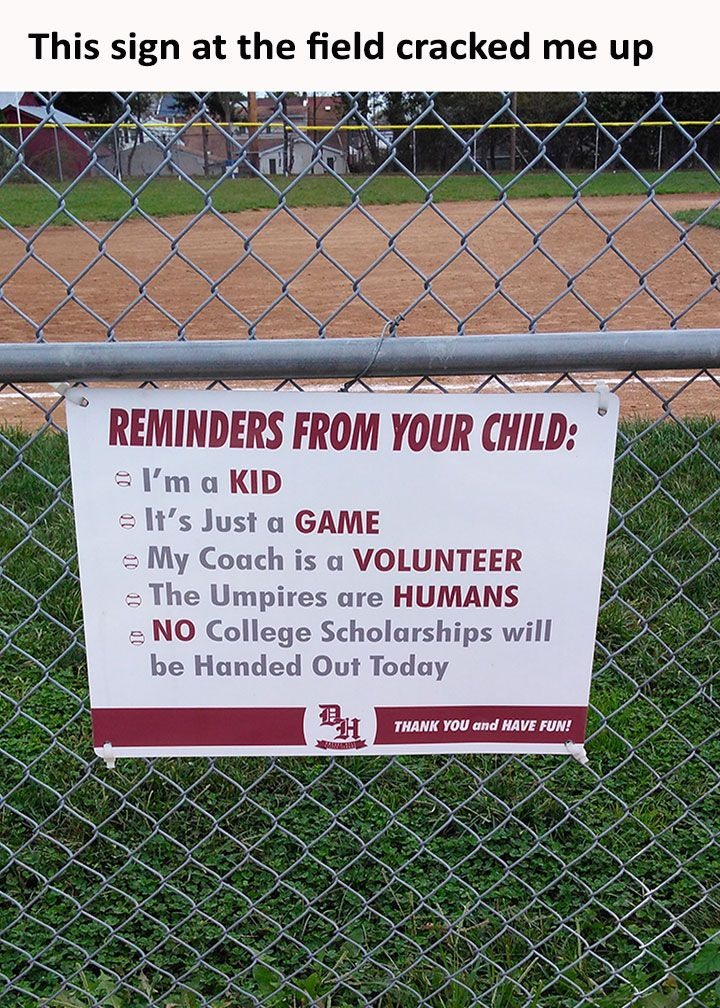It's actually kinda sad that this sign is needed; too many people take kid's games way too seriously