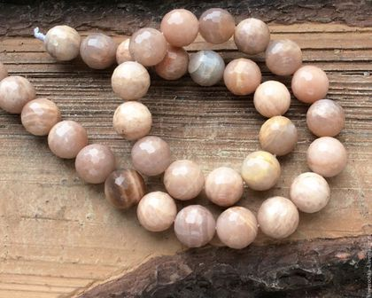 Для украшений ручной работы. Ярмарка Мастеров - ручная работа. Купить Солнечный камень 12 мм огранка бусины камни для украшений. Handmade.