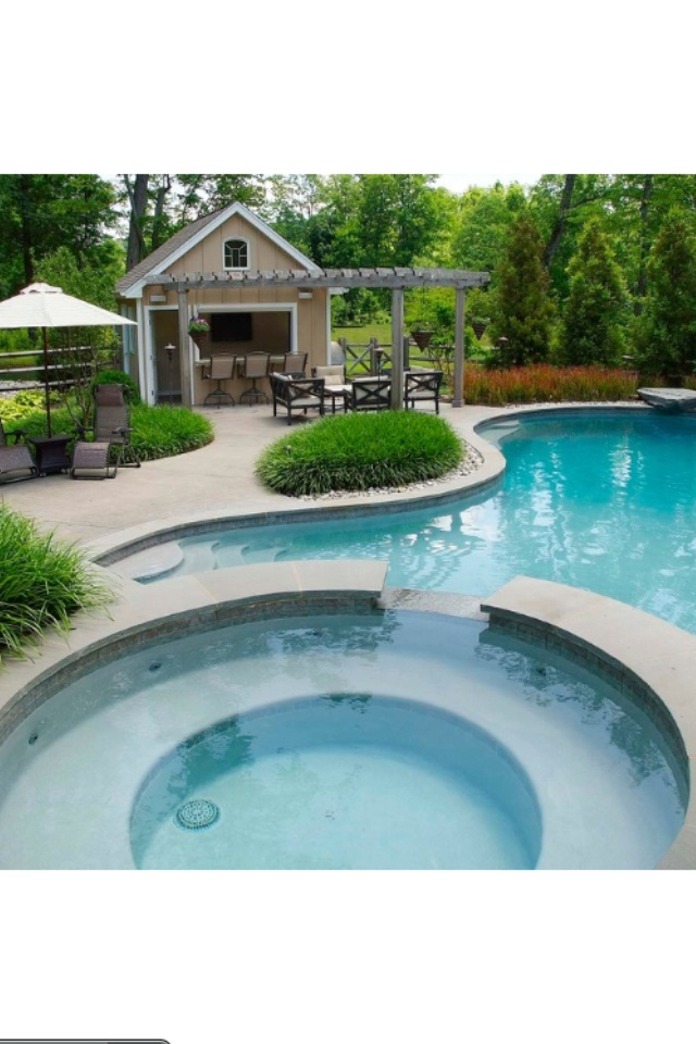 Solebury Residence traditional pool