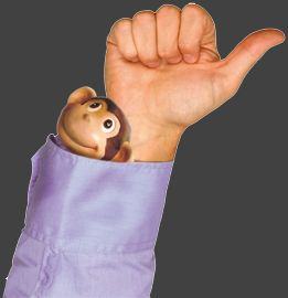 de aap uit de mouw - Google zoeken