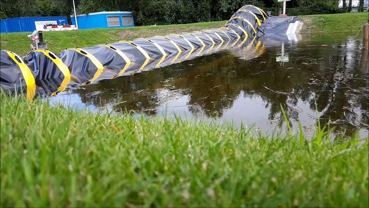 Afbeeldingsresultaat voor water filled barrier tube