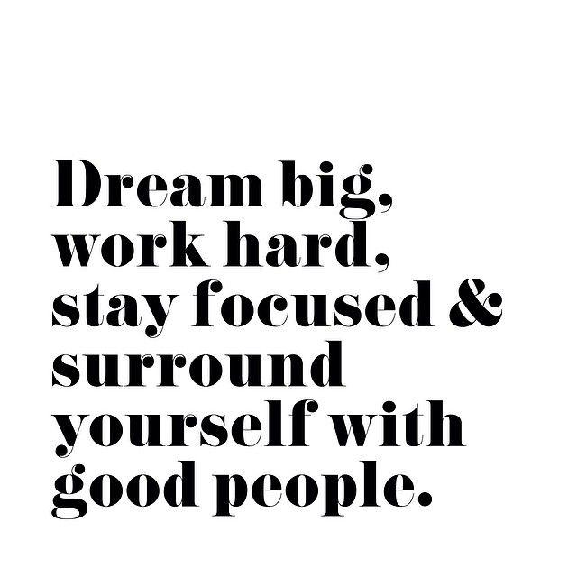Big, hard, focus, good